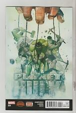 MARVEL COMICS PLANET HULK #4 OCTOBER 2015 1ST PRINT NM