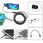 3.5/1.5M 5.5mm Android Endoscope Waterproof Borescope Inspection Camera 6 LED