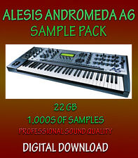 ALESIS ANDROMEDA A6 SAMPLES APPLE LOGIC PRO EXS24, EXS + WAV FORMATS  *DOWNLOAD*