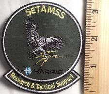 SETAMSS RESEARCH & TACTICAL SUPPORT PATCH (AIR FORCE, MILITARY)