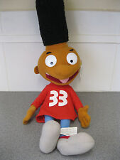 Retro Nickelodeon Hey Arnold! Gerald Plush Soft Toy. With Tags