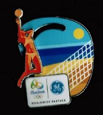 BEACH VOLLEYBALL - RIO DE JANEIRO 2016 OLYMPIC GE MOVING VOLLEYBALL SPONSOR PIN