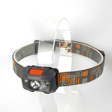 Super Bright 500LM Mini Headlight 3x CREE R3 +2 Red LED Headlamp Head Torch Lamp