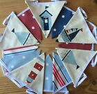 BUNTING DOUBLE SIDED Nautical Seaside Boys Boats Beach Hut Lighthouse 3.15 mtrs