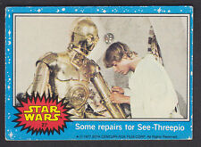 Topps Star Wars - Series 1 1977 - # 27 Some Repairs For See-Threepio