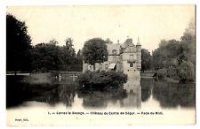 CPA 77 - LORREZ LE BOCAGE (Seine et Marne) - 1. Château du Comte de Ségur. Face