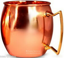 NORSE MOSCOW MULE SOLID COPPER MUG Wicca Witch Pagan Goth Occult PENTGRAM
