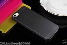 "0.29mm Ultra thin matte Case cover for iPhone 5 5S Translucent slim Soft ""Black"""