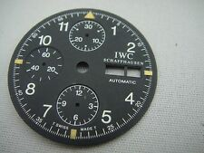 IWC AUTOMATIC CHRONOGRAPH DIAL ORIGINAL NEVER TOUCHED