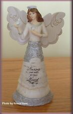 NURSE 6 INCH ANGEL FIGURINE BY PAVILION ELEMENTS FREE U.S. SHIPPING