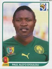 N°407 ALO'O EFOULOU CAMEROON MOUSCRON STICKER PANINI WORLD CUP SOUTH AFRICA 2010