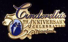 Disneyland Cinderella's 50th Anniversary Event Disney Pin LE 1950