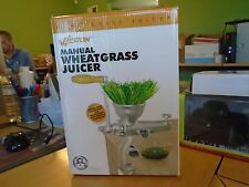WHEATGRASS JUICER MANUAL 36-3701  WESTON
