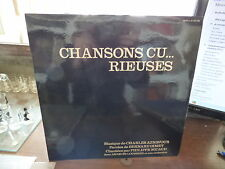 chansons cu... rieuses : philippe Nicaud -  Jacques Loussier - barclay  80158