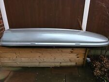 Thule Gloss Silver Roof/Ski Box 370L