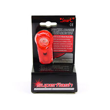 Smart Superflash 1/2W Red LED Bike Tail / Rear Light