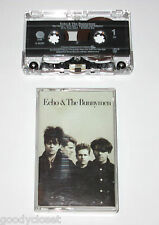 ECHO & THE BUNNYMEN SELF TITLED CASSETTE TAPE LIGHTLY USED