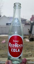 OLD RED ROCK COLA Painted Label Soda Bottle ACL 7 Oz CANADA LIMITED