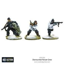 Warlord Games Bolt Action BNIB Dismounted Panzer Crew WGB-WHR-403012005