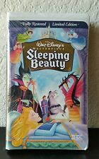 SLEEPING BEAUTY Disney Masterpiece Collection VHS Tape NEW FACTORY SEALED