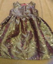 GIRLS DRESS FROM TU PURPLE WITH SEQUINS PATTERN