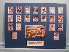Los Angeles Dodgers - 1981 World Champions led by Steve Garvey and Ron Cey