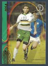 PANINI WORLD CUP 2002- #102-SOUTH AFRICA & WATFORD-PIERRE ISSA