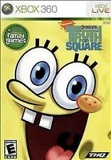 SpongeBob's Truth or Square XBOX 360 COMPLETE Game+Case+Manual