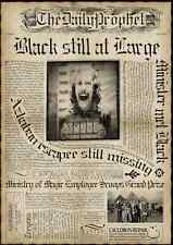 "Harry Potter - The Daily Prophet  - Black Still at Large - Poster  11"" X 15-1/2"""