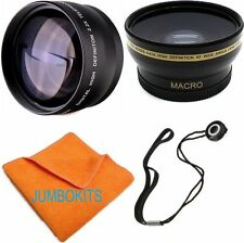 67MM HD FISHEYE LENS + 2.2X TELEPHOTO ZOOM LENS FOR NIKON D5500 WITH 18-140 MM