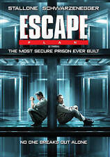 Escape Plan (DVD, 2015, Canadian) DISC IS MINT