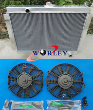 3 ROW 1975-1983 for Nissan Datsun 280Z 280ZX Aluminum Radiator + FANS