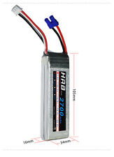 HRB RC lipo battery 7.4V 2700mah 10C EC2 For Hubsan x4 H501S FPV XK V303