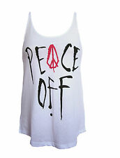 BRAND NEW VOLCOM WOMENS CAMI TANK TOP T SHIRT TEE LOOSE FIT TUNIC BLOUSE SZ S