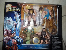 NEW TRUE LEGENDS HEROES OF OLYMPUS-SET OF 4