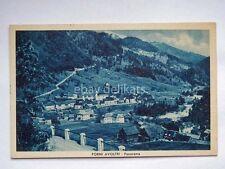 FORNI AVOLTRI panorama carnia Udine vecchia cartolina