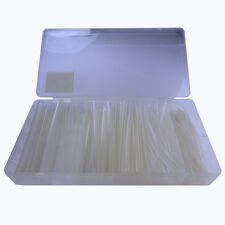 100 piezas, kit de schrumpfschlauch set transparente 10cm largo gp 1 € cuanto m shrink Tube