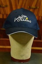 LUCKY STAR CASINO POKER ROOM EMBROIDERED HAT CAP ADJUSTABLE