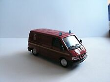 SOLIDO RENAULT TRAFIC POMPIER 1/50 ENGINE FIRE