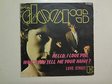 DOORS:Hello,I Love You,Won't YouTell Me Your Name?2:13-Love Street 2:50-SpainPSL