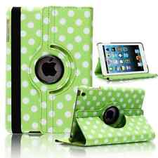 GREEN Fashion Dot Leather 360° Rotating Stand Case Cover For iPad 2/3/4 UK SELL