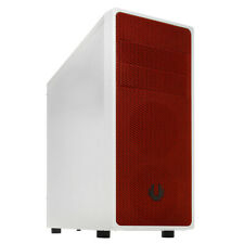 BITFENIX NEOS WHITE/RED ATX MATX MINI ITX USB 3.0 PEFORMANCE GAMING PC CASE