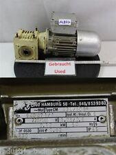 ZAE 0,12 KW 17 min gearbox getriebemotor m40b