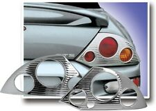 FITS MITSUBISHI ECLIPSE 2000-2005 ABS CHROME TAIL LIGHT BEZELS TRIM 2PCS