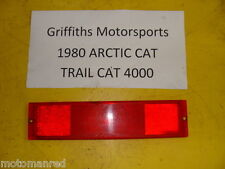 80 79 81 Arctic cat 4000 440 Trailcat Trail RED TAIL LIGHT TAILLIGHT LENS