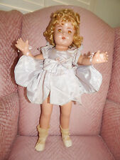 Vintage Arranbee R&B Composition Nancy T Movie Queen ca1930s 23 Inches Tall