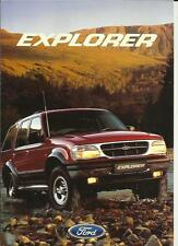 FORD EXPLORER  SALES BROCHURE APRIL 1998