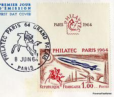 Yt 1422 A  TER  PHILATEC 64  FRANCE  FDC  ENVELOPPE PREMIER JOUR