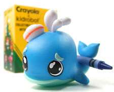 "Kidrobot x Crayola COLORING CRITTERS Mini Series CERULEAN WHALE 3"" Vinyl Figure"