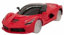 Red Colored FerrariStyle Super Car Bump'n'Go Self Driving Realistic Sounds Flash